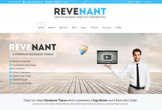 Revenant - WordPress Theme