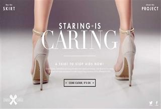 Staring = Caring