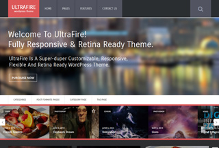 UltraFire - WordPress Theme