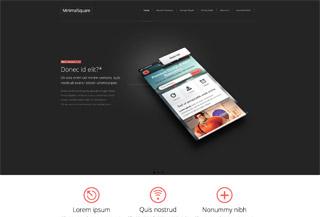 MinimalSquare Premium Template