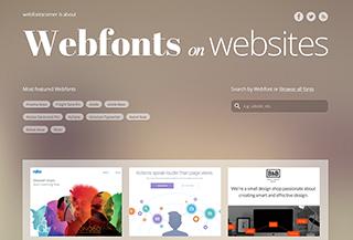 Webfonts Corner