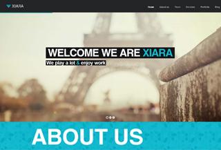 Xiara - WordPress Onepage