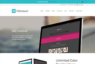 Metrolium WordPress Theme