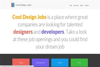 Cool Design Jobs