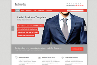 BusinessBox- HTML Template