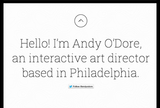 Andy O'Dore is a designer.