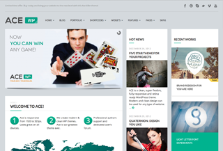 Ace WordPress Theme