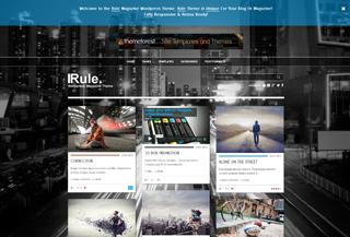 Rule WordPress Theme