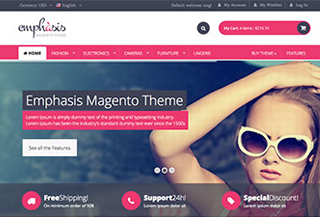 Emphasis Magento Theme