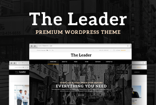 The Leader WordPress Theme