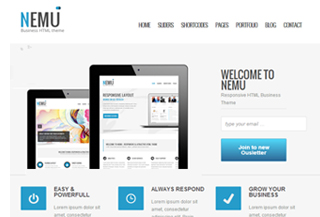 Nemu WordPress Theme