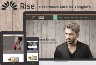 Rise | OnePage Template