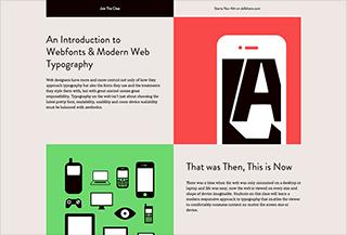 Modern Web Typography