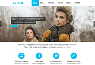 Evolve HTML5 Template