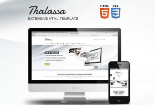 Thalassa Extensive HTML5