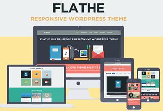 Flathe - Flat WP Theme