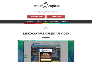Rekko Capture Email Collection