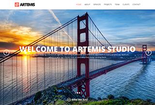 Artemis Parallax Theme