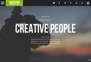 Valkyre App Style WP Theme