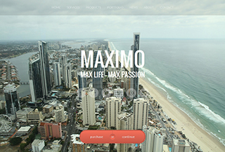 Maximo One Page Parallax Theme