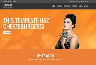 FATCATZ - HTML template