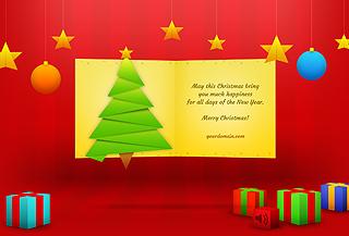 Christmas Card - html5