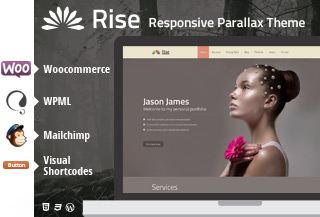 Parallax WP Theme