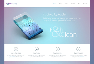 Mavericks WordPress Theme