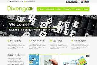 Divengo - WordPress theme