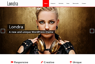 londra - WordPress theme