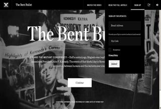 Bent Bullet