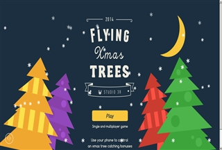 Flying Xmas Trees