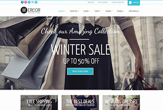 Mercor - WooCommerce Theme
