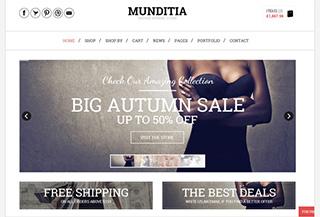 Munditia - Ecommerce Theme