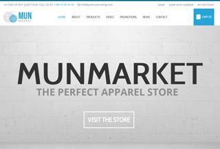 MunMarket - Ecommerce Theme