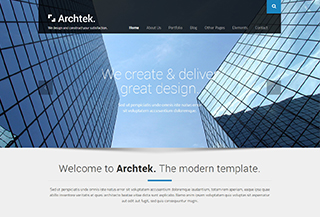 Archtek - WordPress Theme