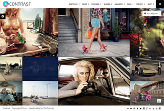 ONTRAST - Photography WP Theme