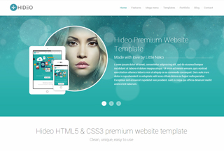 Hideo | Bootstrap Template