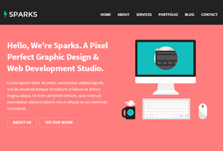Sparks - Responsive Theme
