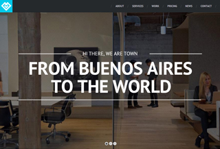 Town - Onepage WordPress Theme