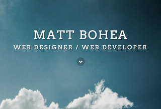Matt Bohea Web Design