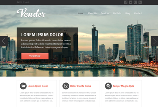 Vender - Business Template