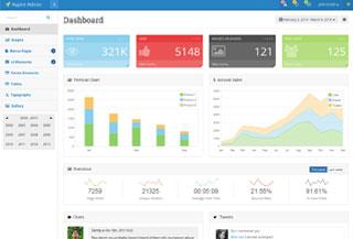 Aspire Bootstrap admin theme