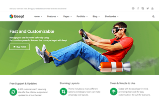 Beep! WordPress Theme
