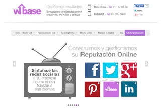 wbase posicionamiento web