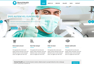 Dental Health WP Theme