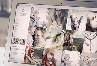 Santone WordPress Portfolio