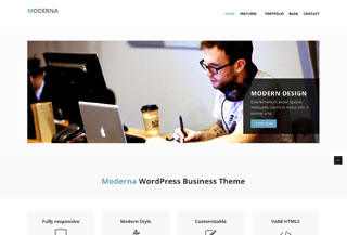 Moderna WP theme