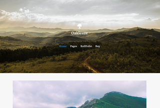 Oakleaze: Premium WP Theme