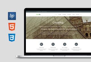 Creatika - HTML5 Template